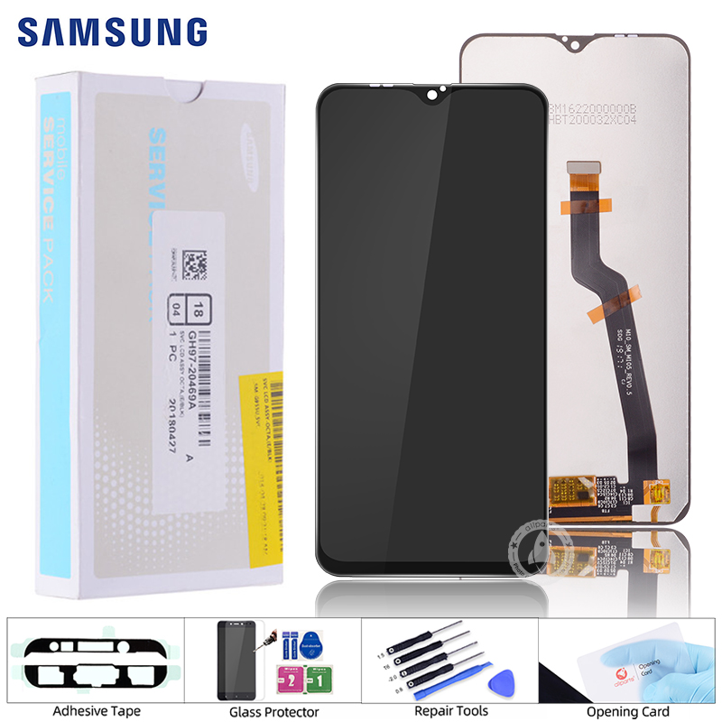 Original LCD For SAMSUNG A10 Display Touch Screen Digitizer Replacement For Samsung Galaxy A10 M10 LCD A105 A105/DS M105 image