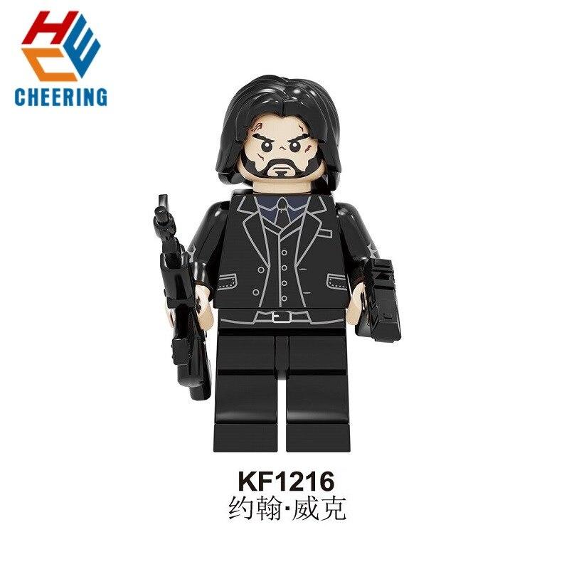 Building Blocks Retired Killer John Wick Chapter 3 - Parabellum Single Sale Action Thriller Figures Bricks Toys For Kids KF1216