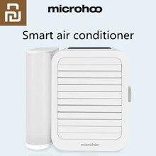 Youpin mini ventilador de aire acondicionado portátil con pantalla táctil, 99 velocidades, ahorro de energía, 1000ml de capacidad, puerto USB