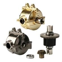 Metall Getriebe Box Shell und Differential Set für 1/18 Wltoys A949 A959 A969 A979 RC