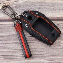 Силиконовый держатель для телефона, защитный чехол для BMW 540i 5 7 8 Series X5 40i X6 X7, светодиодный ЖК-дисплей, брелок с дистанционным управлением