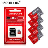 Alto desconto micro cartão sd 128 gb 64 gb 32 gb 16 gb classe 10 cartão de memória 8 gb 4 gb cartão de memória microsd/tf cartões frete grátis