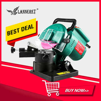 """LANNERET Chain Saw Sharpener 220W 100mm 4\"""" Inches Power Grinder Machine Garden Tools Portable Electric Chainsaw Sharpener - DISCOUNT ITEM  40 OFF All Category"""