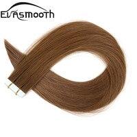 EVASMOOTH, Машинка для наращивания волос на Клейкой Ленте, человеческие волосы для наращивания, 20 шт., 40 шт., 80 шт., клейкая лента для наращивания в...