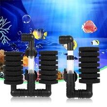 Aquarium Filter Air Pump Biochemical Aquariums Skimmer Sponge Fish Tank Filtro D40