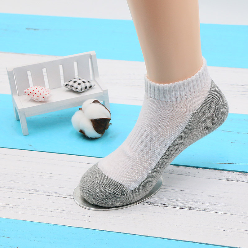 AB Students Sports Mesh Boat Socks Target Sewing Head Combed Cotton Sweat Absorbing Breathable CHILDREN'S Socks