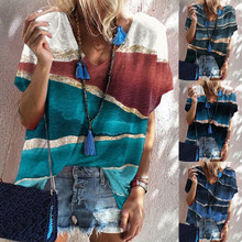 New Summer Urban Casual Loose Short Sleeve Hedging Printed T Shirt Top Women's Fashion Plus Size Clothing