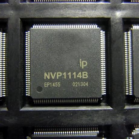 2-10 шт в упаковке, новая NVP1114B QFP-128 S видео декодер чип