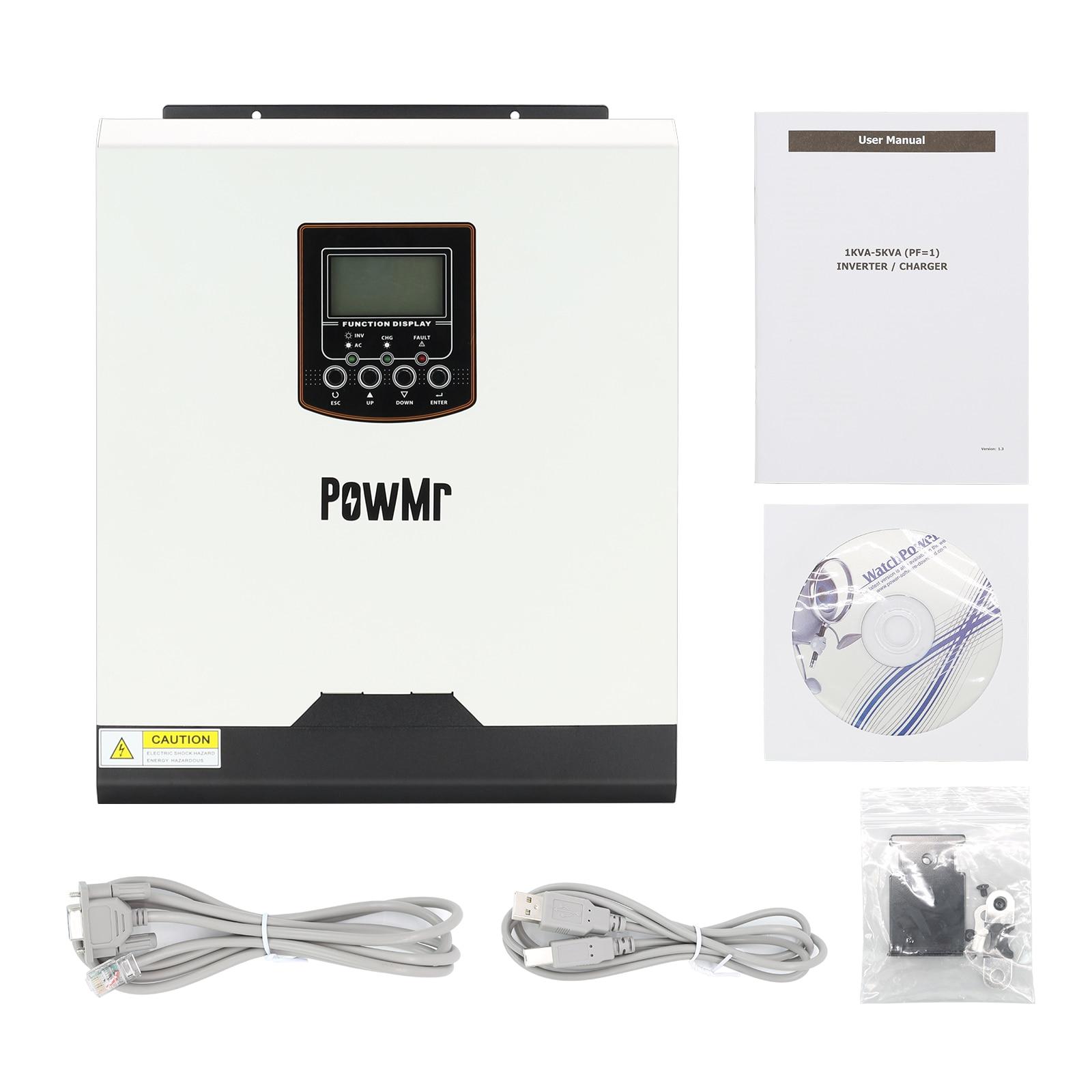 powmr 3kva inversor solar hibrido 24v 220v 04