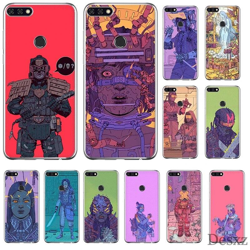 Mobile Phone Case For Huawei P Smart Z Plus P30 P20 P10 P9 P8 Lite Pro Hard Cover Arte Josan Gonzalez Shell
