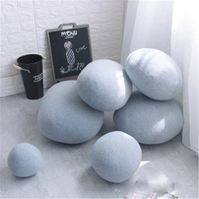 6pcs/1set cobble stone cushion Stone pillow holds