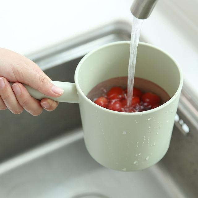 KitchenAce 1 pièce PP cuisine eau louche cuisine salle de bain eau Scoop eau égouttoir cuillère eau cuillère cuisine maison Gadgets & outils