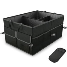 цена на Trunk Cargo Organizer Folding Caddy Storage Collapse Bag Bin for Car Truck SUV Travel Accessories Boxes