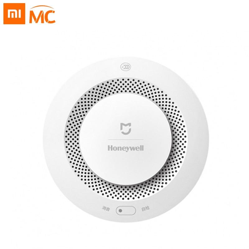 Xiaomi Mijia Honeywell Датчик пожарной сигнализации детектор дыма работает с многофункциональным шлюзом 2 умный дом Безопасность приложение дистанционное управление