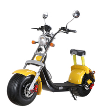 Stock in Europe EEC/COC Road Legal City coco APP GPS System Electric Motorcycle Big Tire 1500W Electric Scooter for Adult