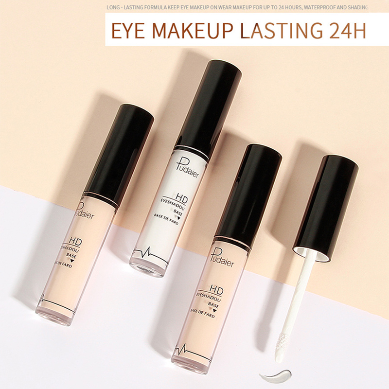 Eye Primer Makeup Base Long Lasting Cream For Eyeshadow Women Beauty Natural/white Color improve Gloss Eye Makeup Primer Cream image