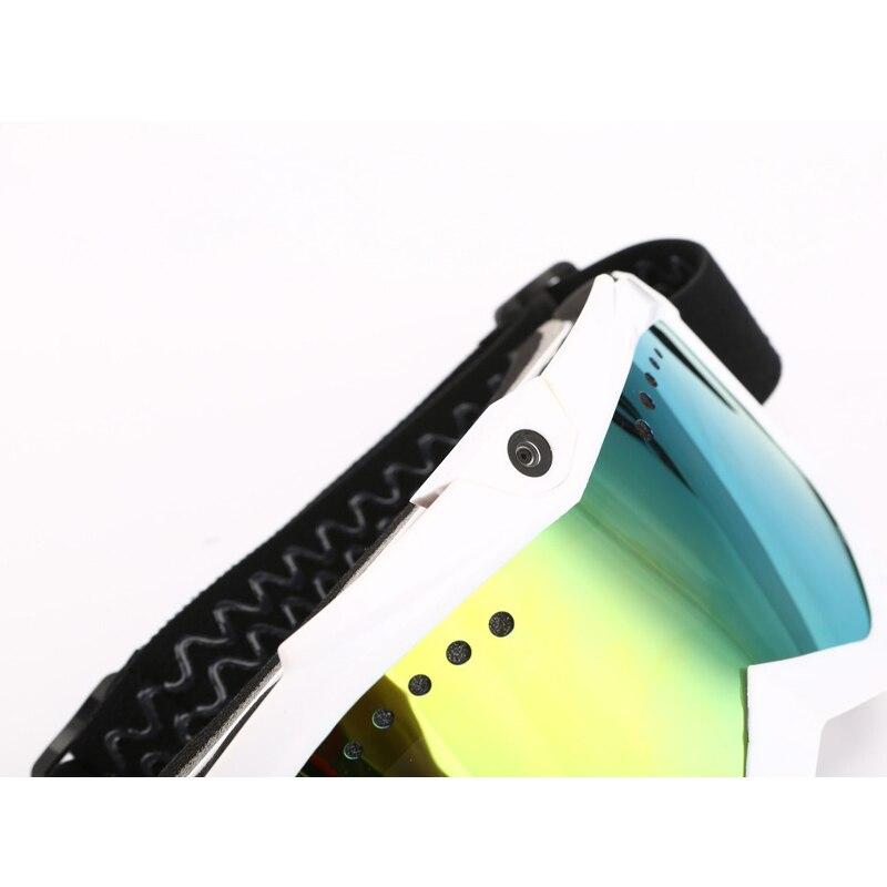 1080P HD Kamera mit Ski Sonnenbrille Brille mit Schwarz Doppel Anti Fog Objektiv für Ski/Transparent objektiv für Moto Batterie Eingebaute - 3