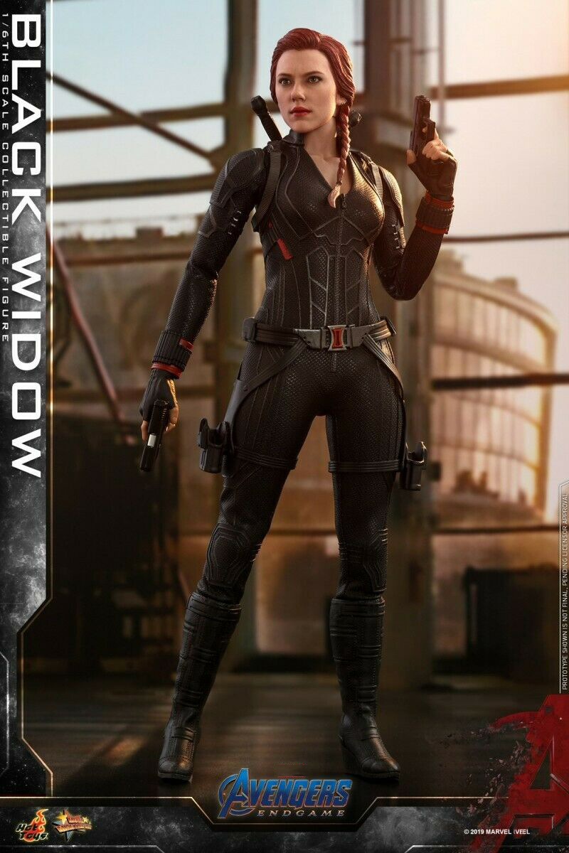 Hot Speelgoed MMS533 1/6 Avengers 4 De Final Battle Natasha Romanoff Zwarte Weduwe Speelgoed - 5