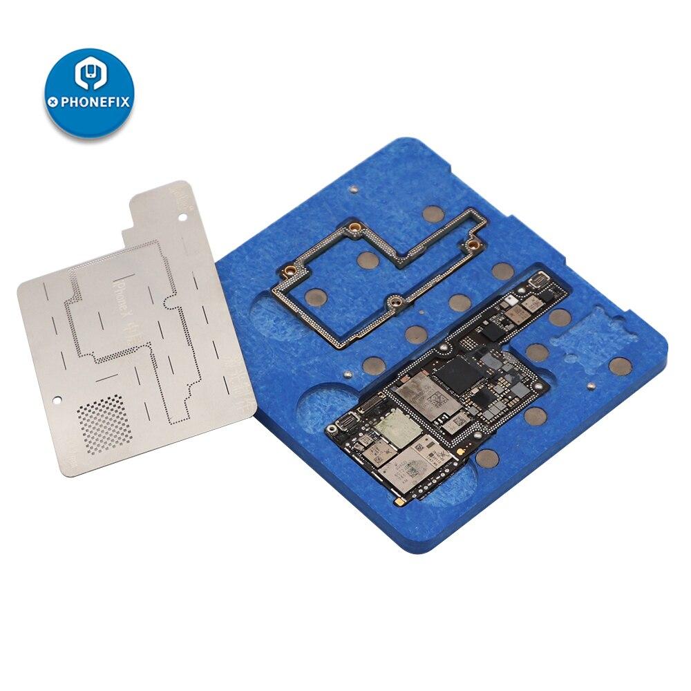 Mobile Phone BGA Reballing Fixture Motherboard Soldering Repair Fixture Tin Planting Platform For IPhone X Repair Kit
