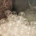 30 шт 12 дюймов звезды горошек прозрачные воздушные шары надувные воздушные латексные шары, гелий декор для свадьбы, дня рождения, вечеринки