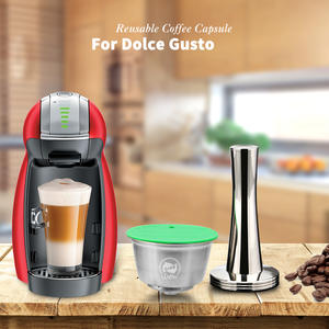 Capsule-Pod Refillable Dolce Gusto Cup COFFEE-FILTERS Icafilas Nescafe for Crema