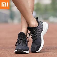 クリアランスxiaomi freetieランニングシューズ男性のスタイリッシュな通気性の衝撃吸収スニーカーxiaomi軽量アウトドアスポーツ靴