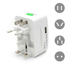 Electric Plug Socket Adapter International Travel Universal Usb Power Charger Converter