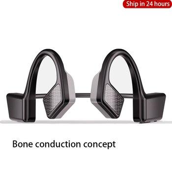 2020 New Headphones With Bone Conduction Earphones Bluetooth Earphone Wireless Blutooth Headset TWS Sports Waterproof Earbuds