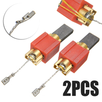 2Pcs Carbon Brush For Miele 4297410/4297411/4297412/4297413 Spare Parts Washing Machine Kits