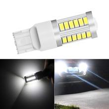 цена на 1pcs 1156 1157 7440 T20 LED Car Turning Light 33 SMD 5630 5730 Auto Tail Brake Light Reverse Bulb Signal Lamp 12V DRL Lights