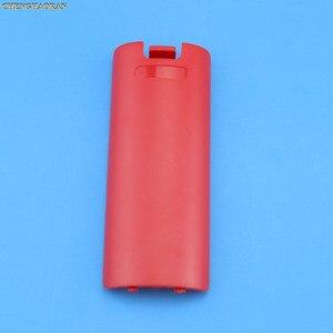 Image 3 - Funda trasera para mando a distancia de Nintendo Wii, funda protectora para batería, juego inalámbrico, 1 unidad