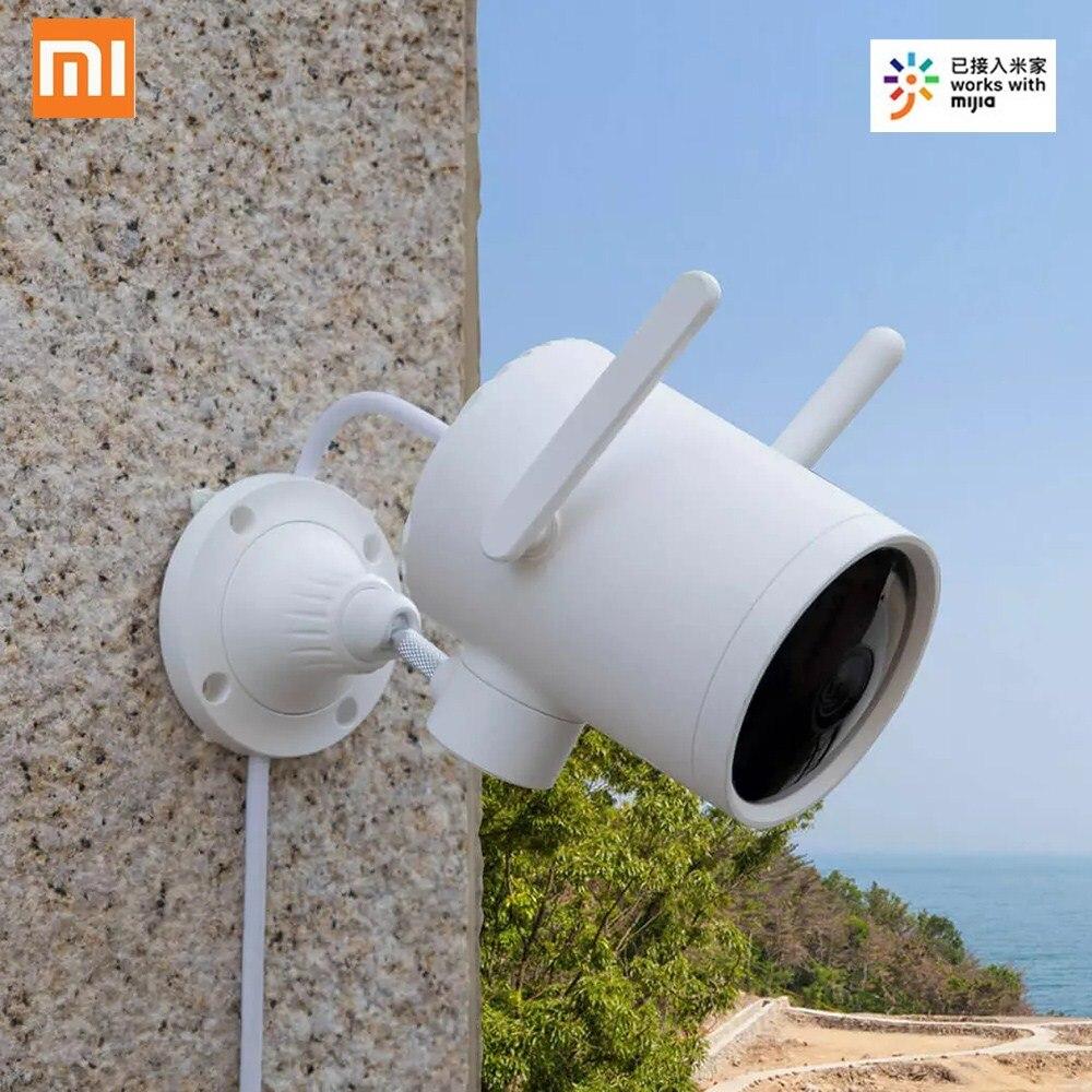 Xiaomi Mijia N1 Smart IP Camera 1080P IR Night Version IP66 Waterproof 270° PTZ WiFi In/Outdoor Security Wireless Smart Camera