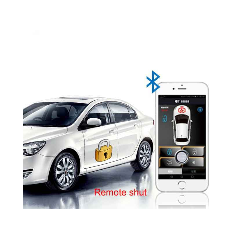 Car Alarm System Keyless Entry Automatic Trunk Opening Smart APP Central Locking For Cars Style Keyless Entry System Car Parts