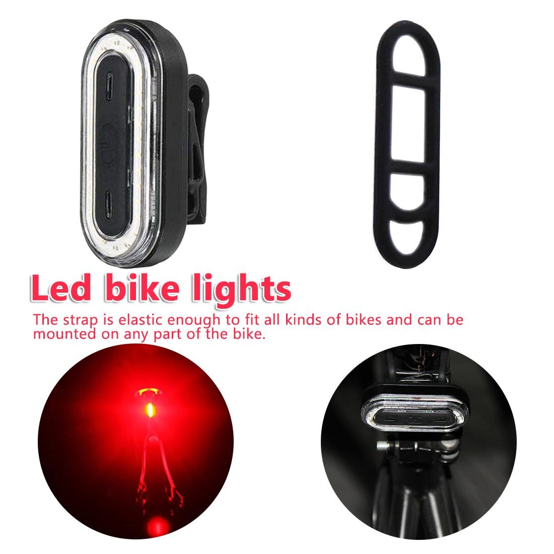 Helmet Light Powerful Bicycle Waterproof Bike Rear Light  Bicycle Light Rechargeable Rearlight Bike Light