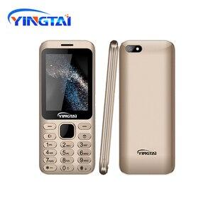 Image 3 - Nouveau modèle original YINGTAI S1 Ultra mince métal placage double SIM écran incurvé caractéristique téléphone portable Bluetooth téléphone portable daffaires