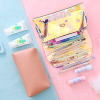 Holografische Make-Up Cosmetische Bag Iriserende Grote Make Pouch Travel Organizer Etui 2 Stuks Set Dq-Drop