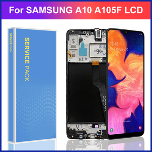 6.2'' Original Super Amoled LCD For Samsung Galaxy A10 A105 A105F SM-A105F LCD Display With Touch Screen Digitizer Assembly