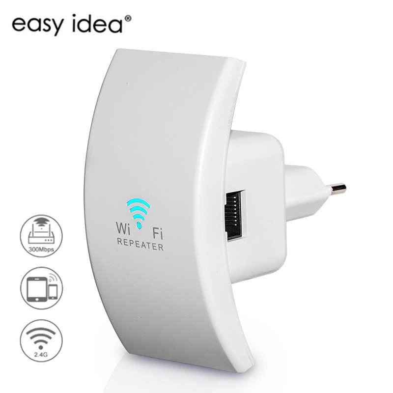 Wireless Wifi Repeater 300Mbps Wifi Booster Ultra-Small Size Wi-fi Repeater 802.11n/b/g Wifi Range Extender Signal Amplifier