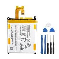 Bateria de substituição original para sony xperia z2 l50w sirius so-03 d6503 d6502 lis1543erpc telefone genuíno bateria 3200mah