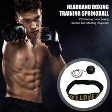 Headband-Set Punch-Ball Boxer Hand-Eye-Training-Set Exercise Boxing-Reflex Elastic Muay-Thai