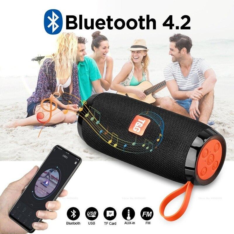 Купить уличный bluetooth динамик портативная беспроводная звуковая