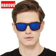 2021 поляризованные солнцезащитные очки rbrovo мужские Квадратные