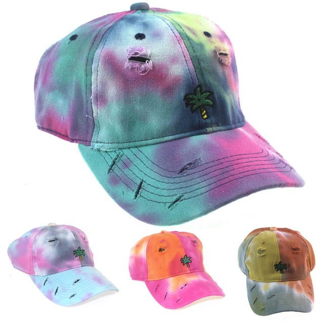Купить хлопковая кепка с вышивкой и принтом tie dye женские бейсболки картинки цена