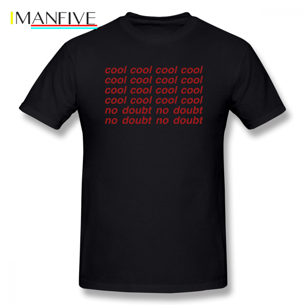 Brooklyn Nine Cool T Shirt Letter Print Cotton T Shirts Short Sleeve Awesome Streetwear Music Tee Shirt 5XL