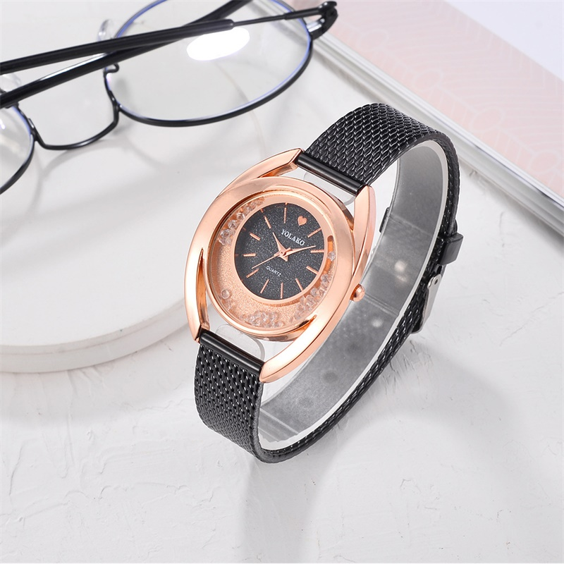 YOLAKO Women Watches Bracelet New Quartz Clock Ladies Wristwatches Relogio Feminino Diamond Reloj Mujer Hot montre femme 533 in Women 39 s Watches from Watches