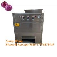 300 kg/std zwiebel haut schälmaschine zwiebel scallion schäler schälmaschine grün zwiebel haut entfernen maschine