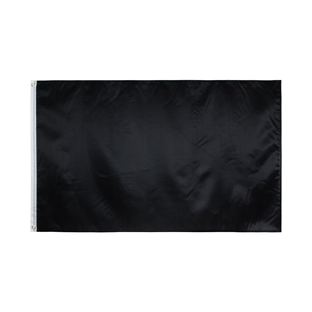 Hanging 90*150cm Black Flags For Decoration