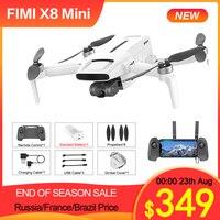 FIMI-Dron x8 Mini con cámara 4K, cuadricóptero con GPS, Wifi, 5,8 GHz, 250g-class, 30 minutos, 8KM, Control remoto