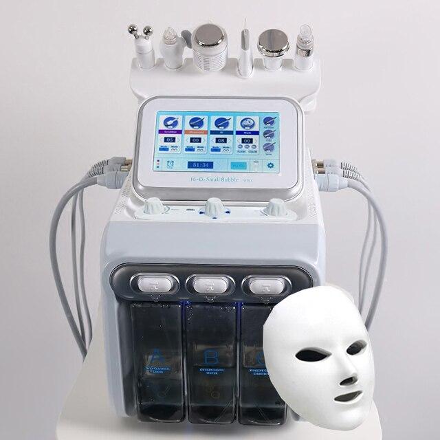 חדש 7 ב 1 התחדשות עור הידרו Dermabrasion/יהלומי dermabrasion מכונה/מים hydrodermabrasion