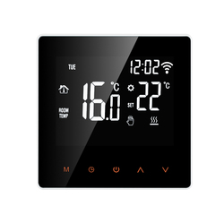 16A WiFi Smart Thermostat Digital Temperature Controller APP Control LCD Display Touch Screen for Electric Floor Heating